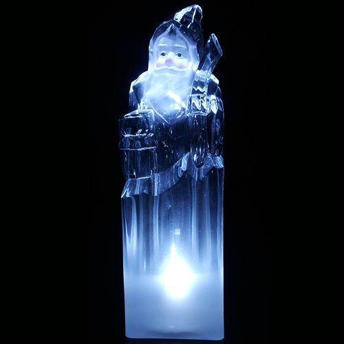 Enfeite de Natal Acrílico 15cm Iluminação - Natalia Christmas