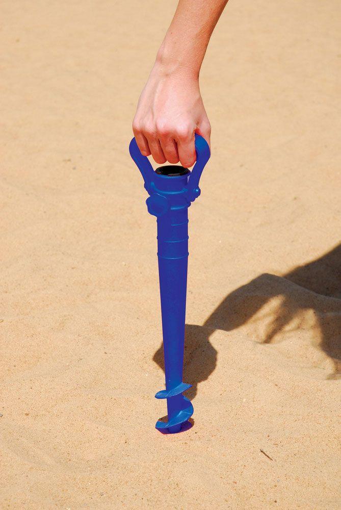 Saca Areia Com Suporte P/ Guarda-Sol 36mm - M Mor