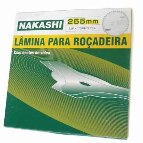 Roçadeira Gasolina Kawasaki Lateral 54cc + Serra Vídea 40 - l530k Nakashi