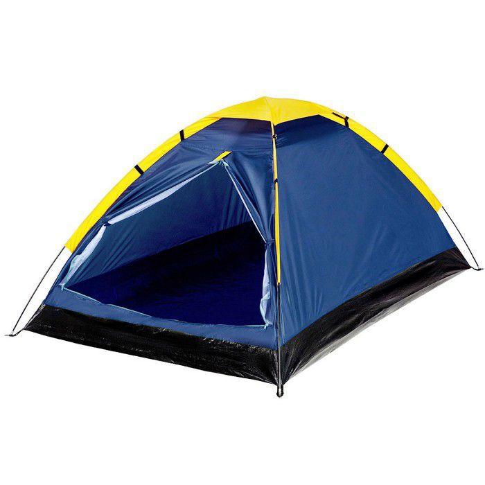 Barraca Camping Pesca Iglú Canastra 3 pessoas Azul - Yankee