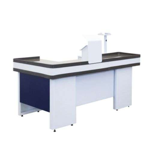 Caixa Check-Out Completo Azul 150 cm - SaGôndolas