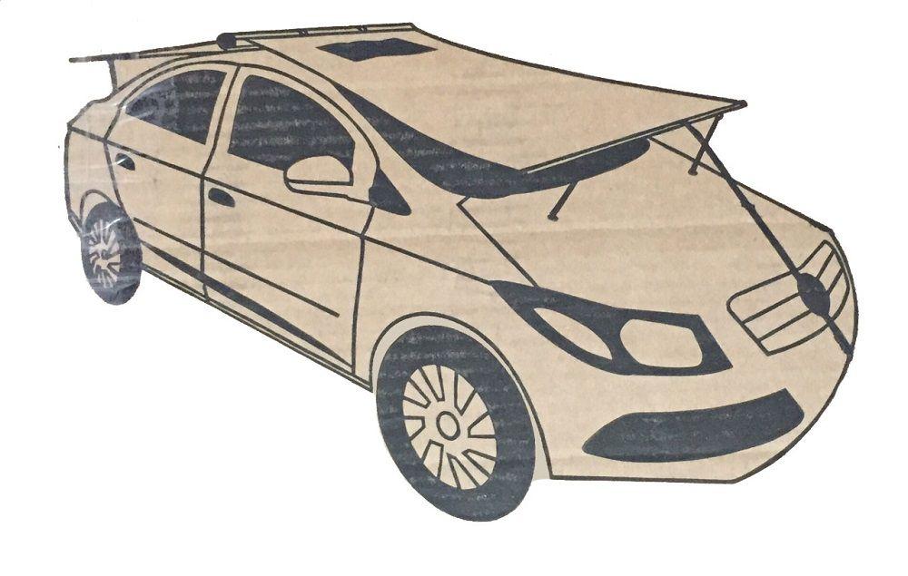 Garagem Protetor Solar Carros até 4m - Sombracar