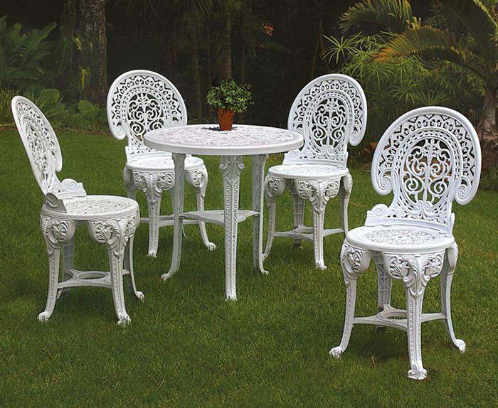 Cadeira Desmontável de Plástico Colonial Branca - AntaresPlásticos