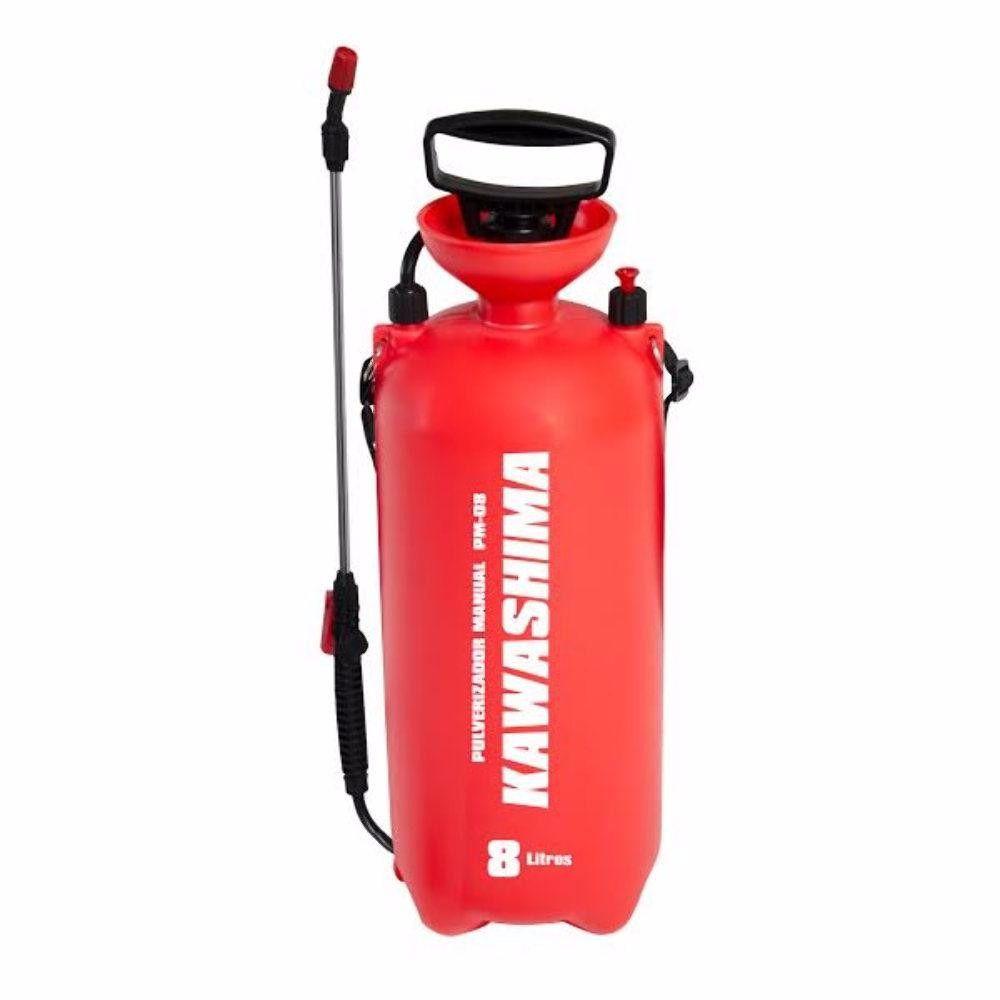 Pulverizador de Pressão Acumulada  8 Litros - PM8 Kawashima