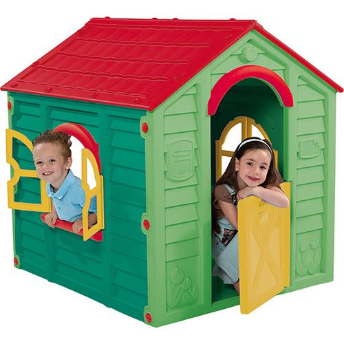 Casinha de Brinquedo PlayHouse Rancho Verde - ktr000366 Keter