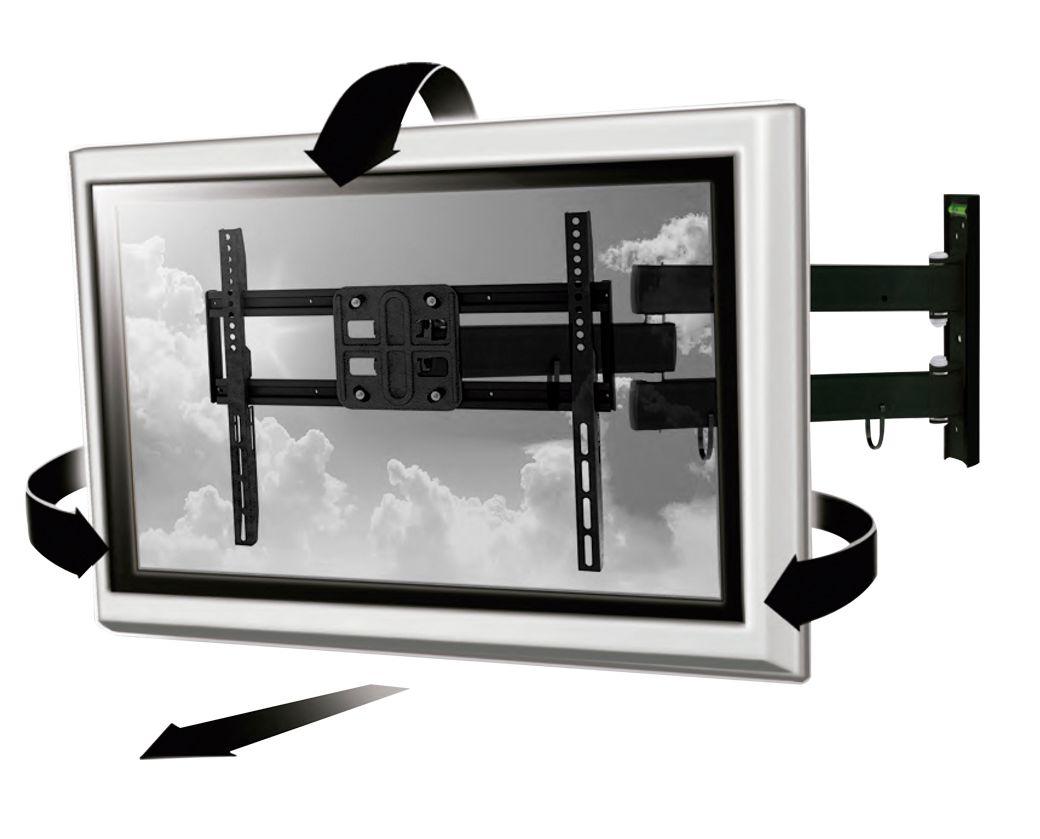 Suporte para TV 32-50 Polegadas AC261 - Multilaser
