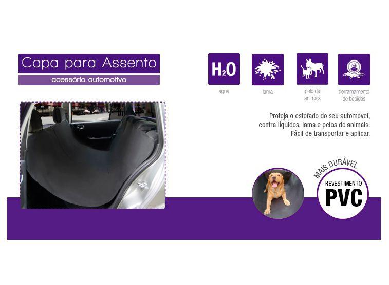 Capa Pet Protetora para Animais em Banco de Carro - au307 Multilaser