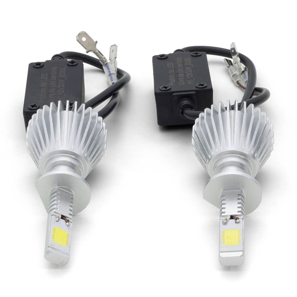 Lampadas Automotiva H7 30W 6200K Super Led au826 Multilaser