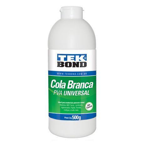 Kit 12 Cola Branca PVA Universal 500g - TekBond