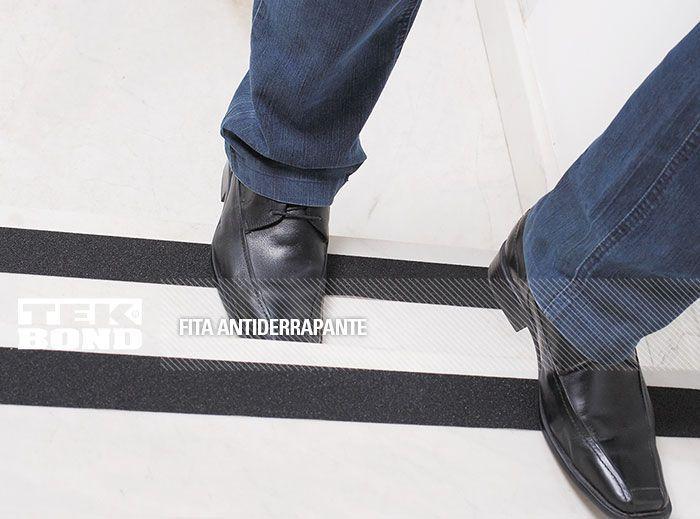 Fita Antiderrapante 50mmx5m Preta - TekBond