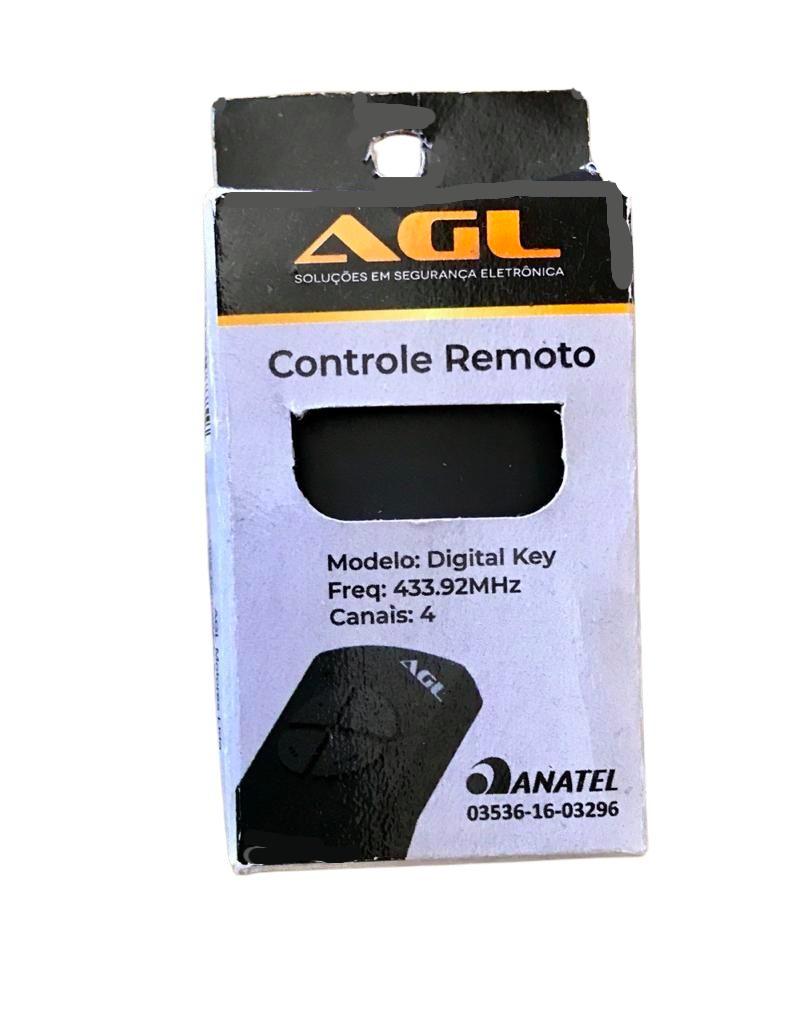 3 Controles Remoto  Portão Garagem Digital Key 433mhz AGL