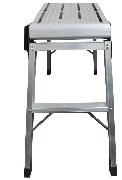 Banqueta Escada 50cm 2 Degraus Plataforma Larga 91cm - Strong