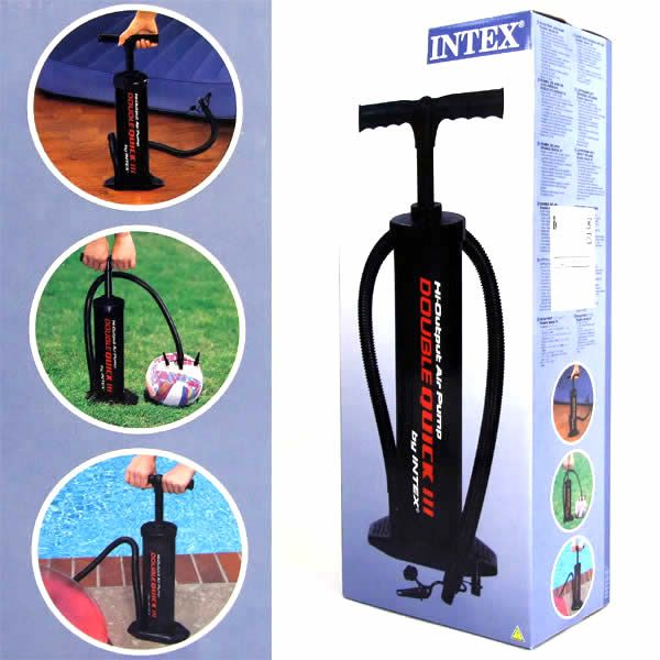 Bomba de Ar Double Quick 2 Manual de 48cm - 68615 Intex