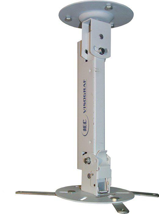 Suporte de Teto  para Projetor Universal 28cm - suppro01 - Visograf