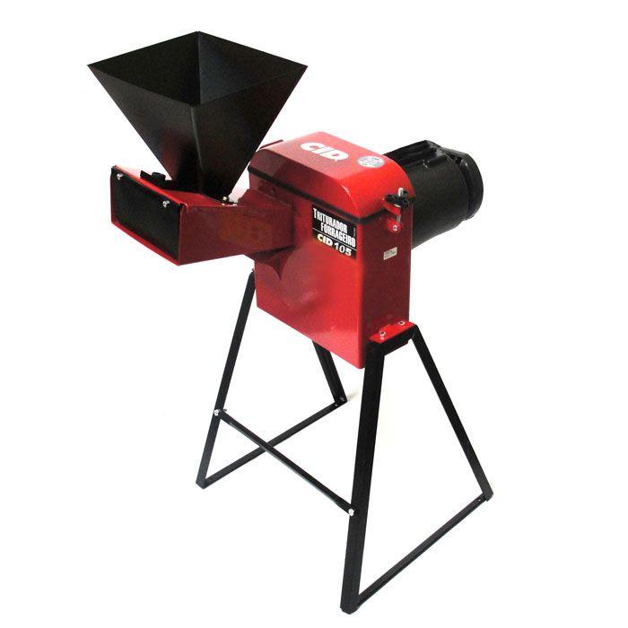 Triturador Forrageiro 105 1,5cv Milho, Cana, Capim, Picador - CID