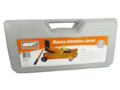 Macaco Jacare 2 Toneladas Hidraulico Rodinhas - Strong
