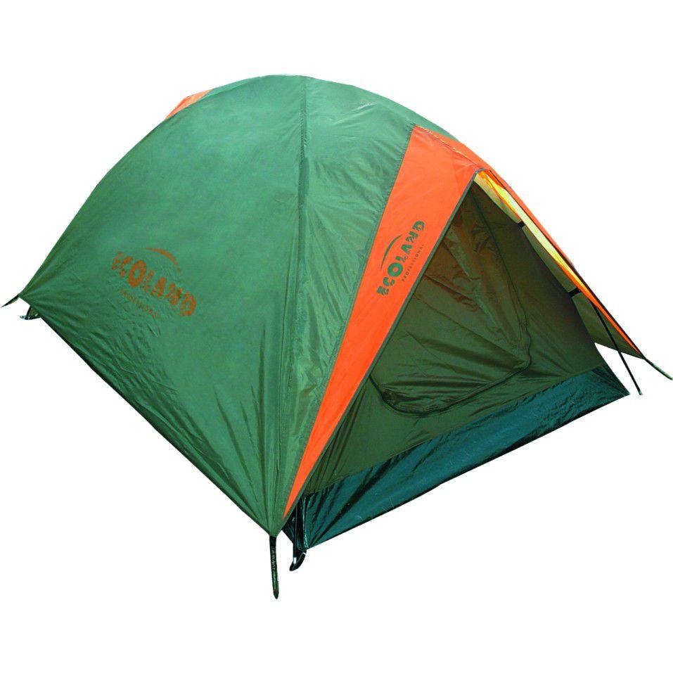 Barraca Camping Karaja Professional  com Forro 3 P 180x210x130cm cor Verde -  Ecoland