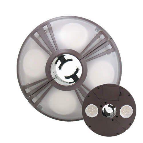 Luminaria Sem Fio 36 Leds  p/ Guarda Sol Ombrelone Dupla Iluminação - Dual Umbrella Ligth Member