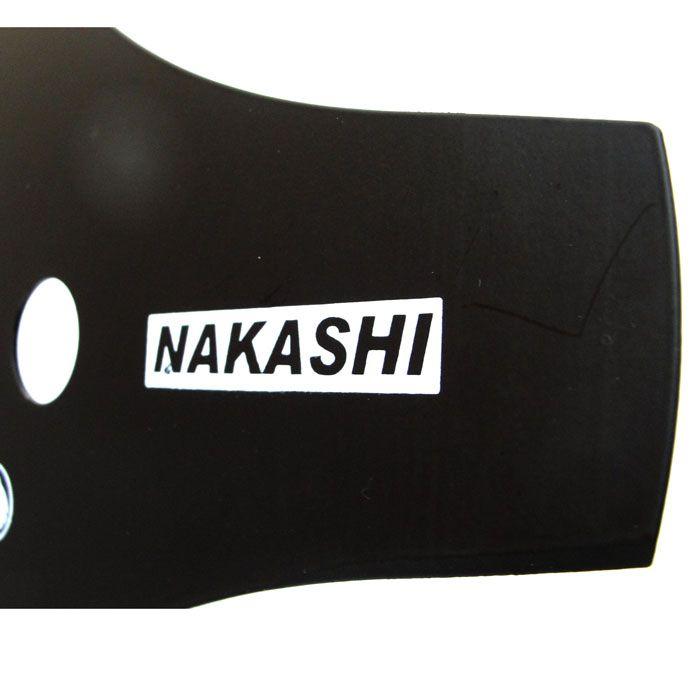 Lamina Faca 2 Pontas p/ Roçadeira 350 x 25,5 x 2 mm Nakashi