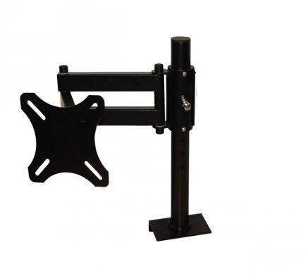 Suporte de Mesa Monitor TV LCD 15 a 23´´ até 12kg Base Morsa - suplcdrobust27 Visograf