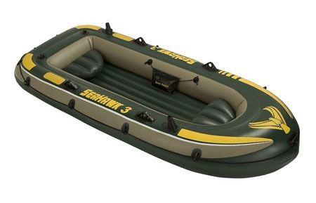 Bote Inflavel SeaHawk 300  para 3 a 4 pessoas ou 285kg  Intex