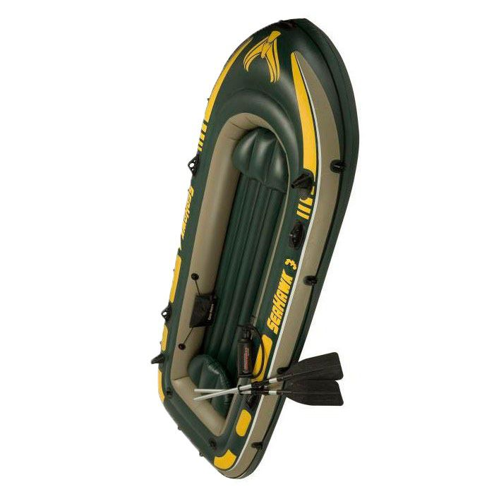 Bote Inflavel SeaHawk 300 + 2 Remos + Fole - Intex