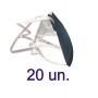20 Mascara Protecao Respiratoria Pff2 N95 ABNT 3 Camadas