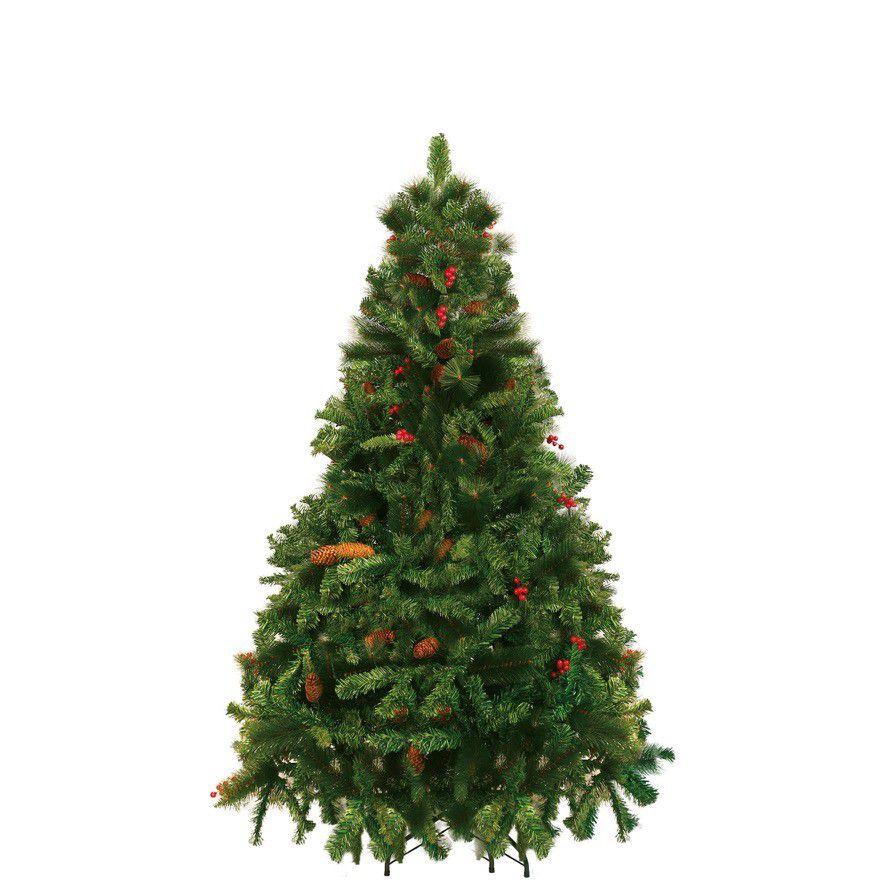 Árvore Decorada Alpina 120Cm 195G - Magizi