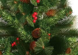 Árvore Natal Decorada Alpina 150cm 330 Galhos - Magizi
