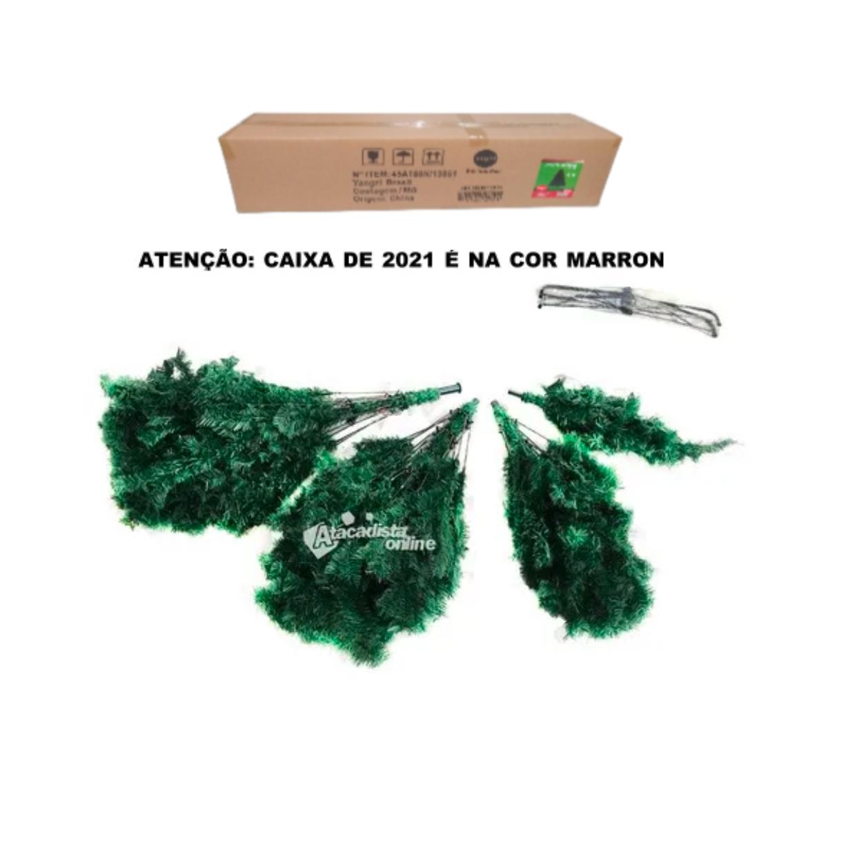 Arvore Natal Big Imperial  2,70m 1890 Gal.  + Ponteira NC
