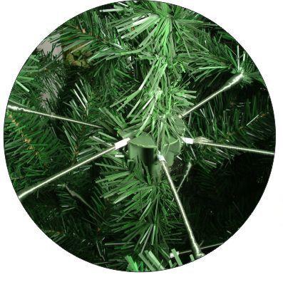 Árvore Natal Imperial Noruega 2,40m 1460 G +Ponteira. Magizi