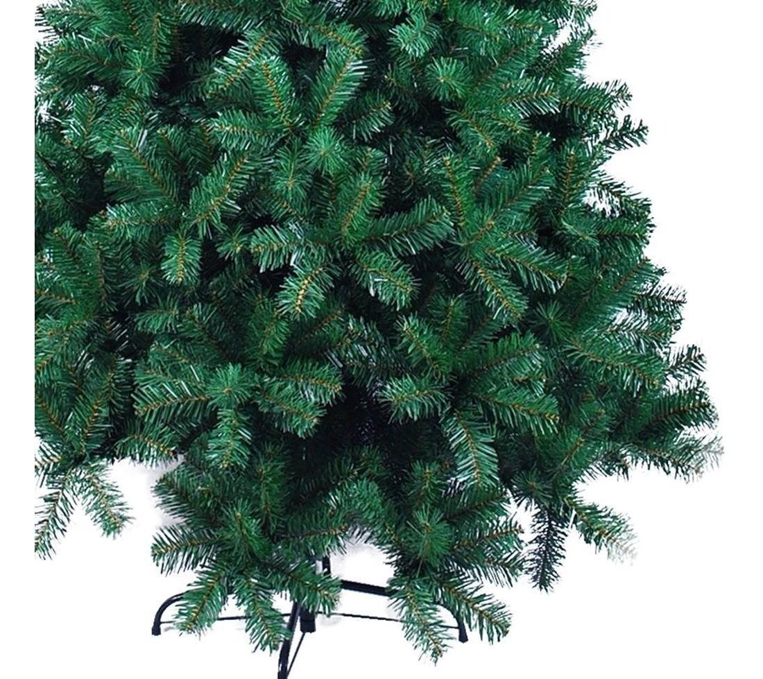 Árvore Natal Pinheiro Dinamarca 2,40m 1198G + Ponteira Magizi