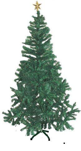 Arvore Natal Pinheiro Nova Real 1,20m Verde 300 galhos - Natalia Chr