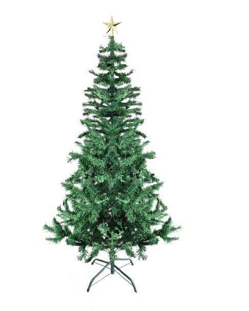 Árvore Natal Pinheiro Real 2,40m 1100G + Ponteira NC