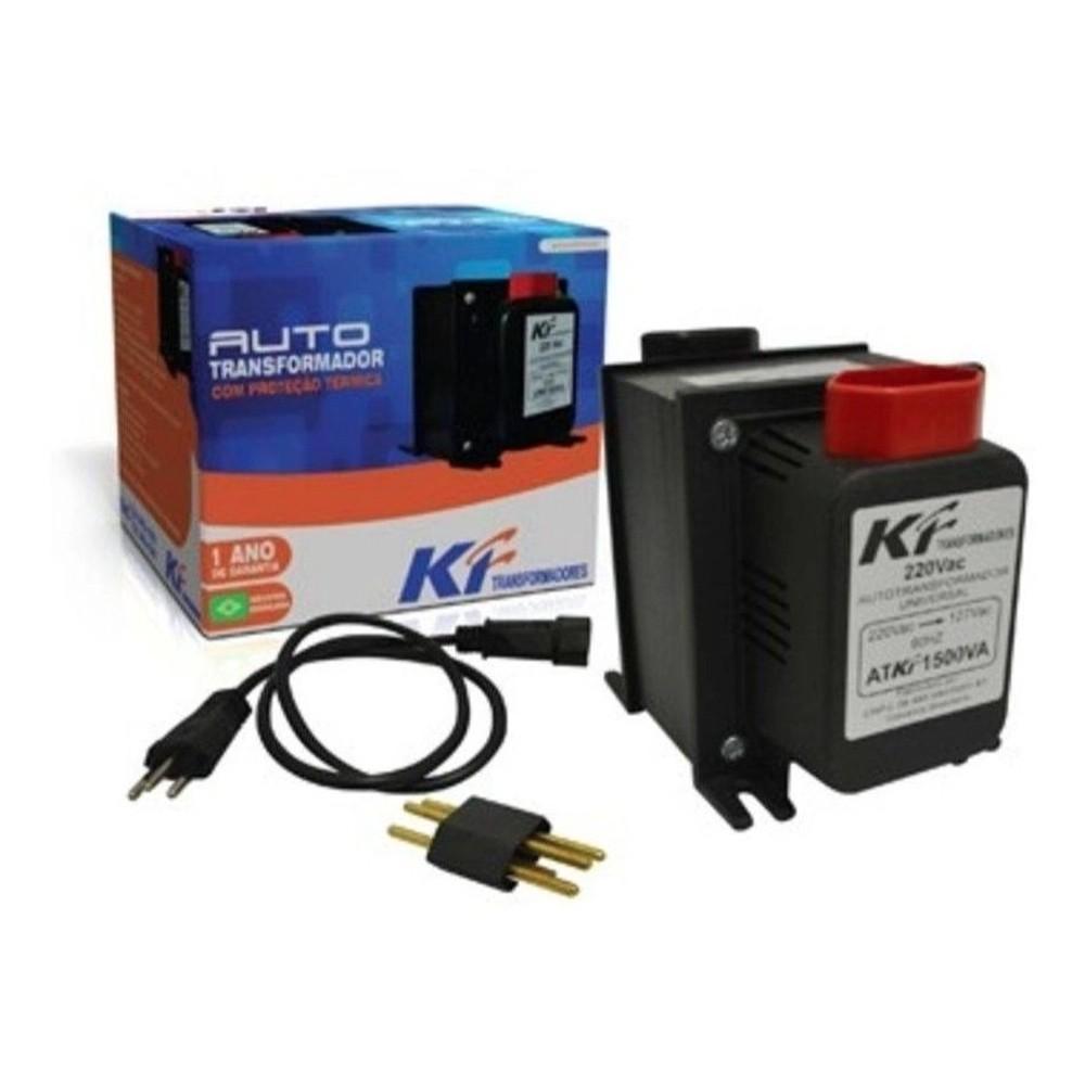 Auto Transformador Energia  500Va 220 /110V Ou 110/220V KF