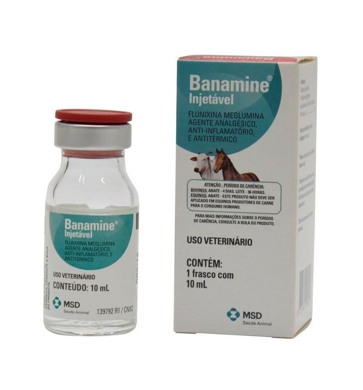 Banamine Injetável 10ml Msd