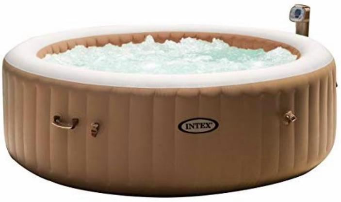 Banheira de Hidro Spa Ofurô 110V x+ Kit Limpeza Intex