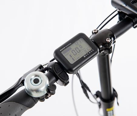 Bicicleta Elétrica Dobrável Cardan  22Kg 36V  Easy Sense
