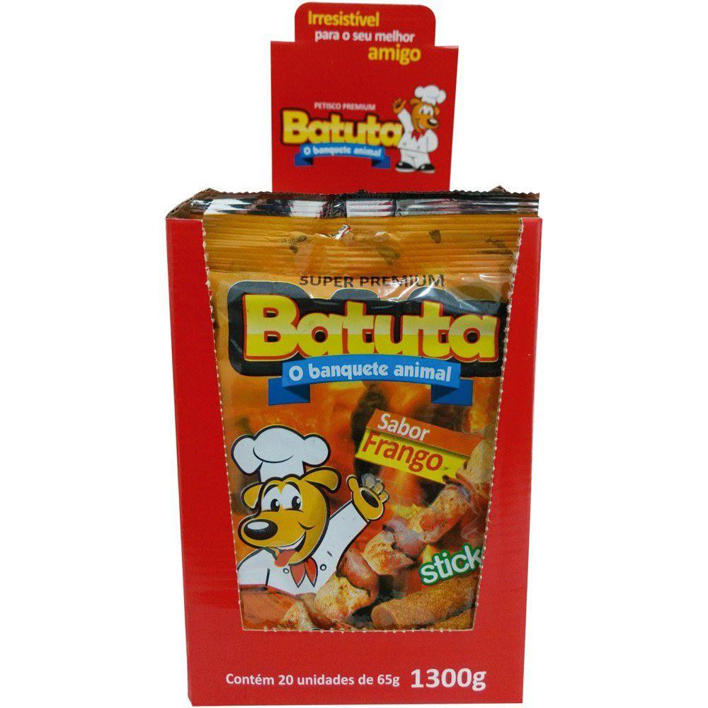 Bife Batuta Stick Sabor Frango 65G Fenix Cx/20