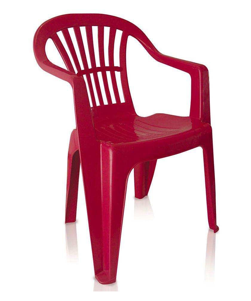 Cadeira Poltrona 120Kg Plástico Inmetro Boa Vista Antares