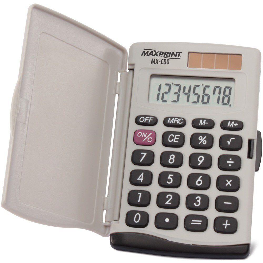 Calculadora Eletronica De Bolso Maxprint