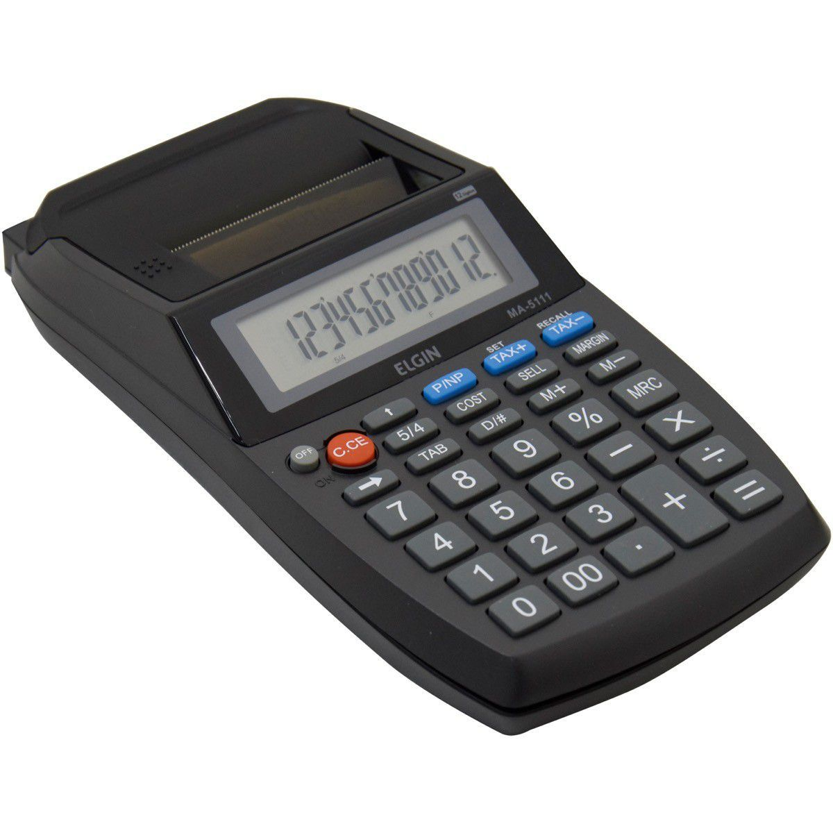 Calculadora Eletronica De Mesa C/Bobina S/Adaptador Elgin