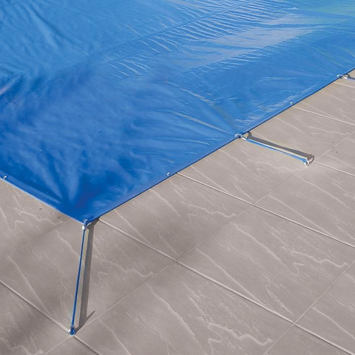 Capa Piscina 2,5x10 m (10X2,5) Dreno 26 Pinos 300 Micra CapaKit