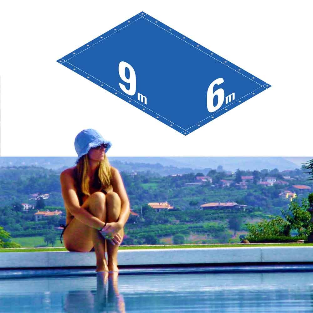Capa Piscina 6x9 m (9x6) Dreno 30 Pinos 300 Micra CapaKit