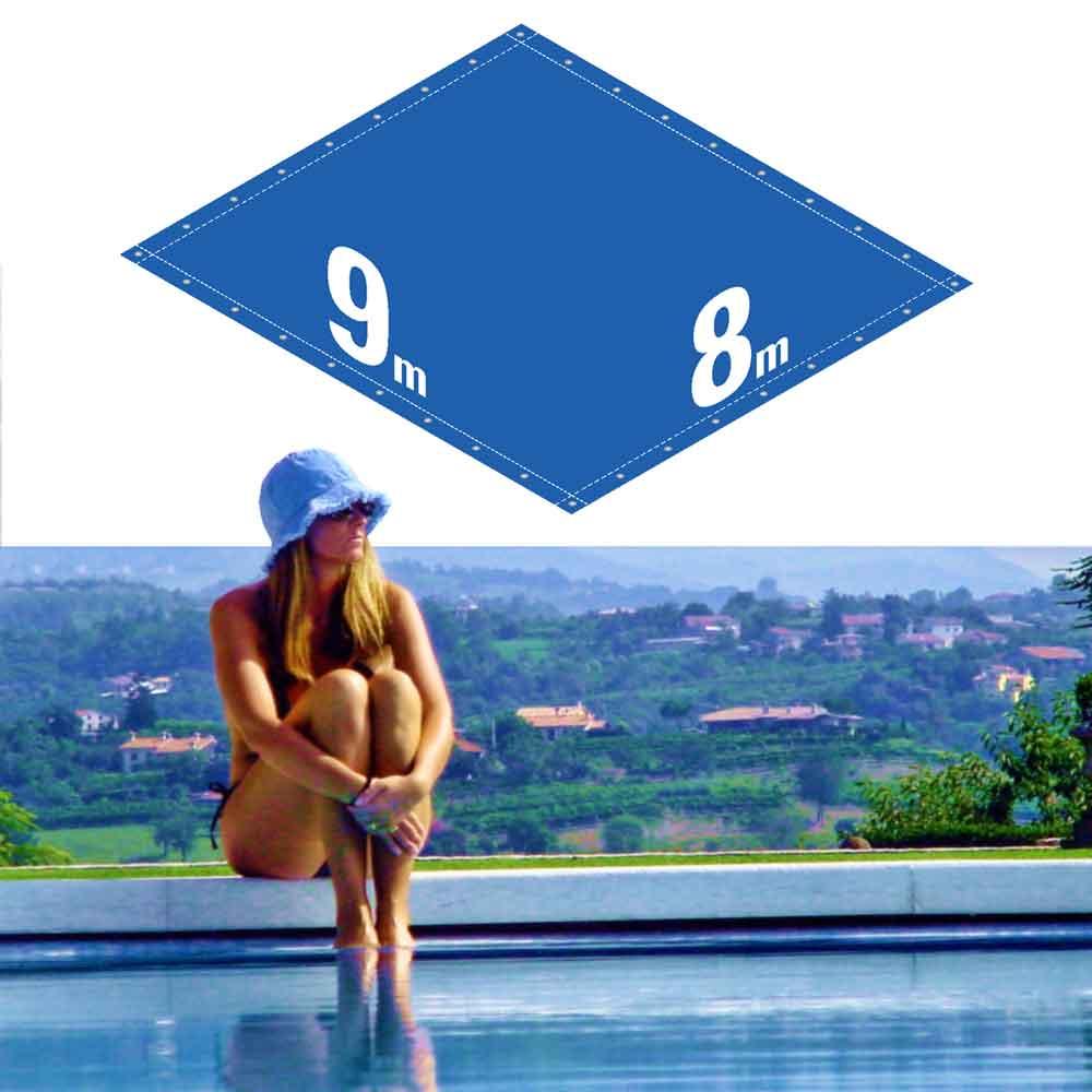 Capa Piscina 8x9 m (9x8) Dreno 34 Pinos 300 Micra CapaKit
