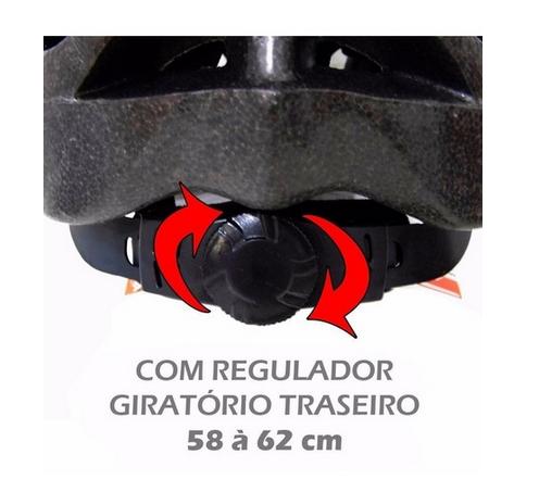 Capacete Ajustavel Viseira Mtb Sports Multilaser Atrio Bi003