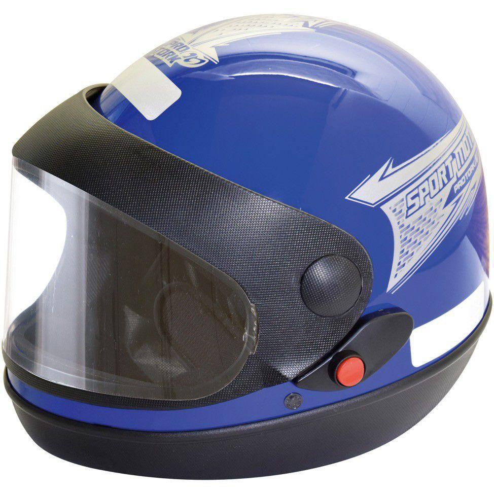 Capacete Sm 58 Azul Pro Tork
