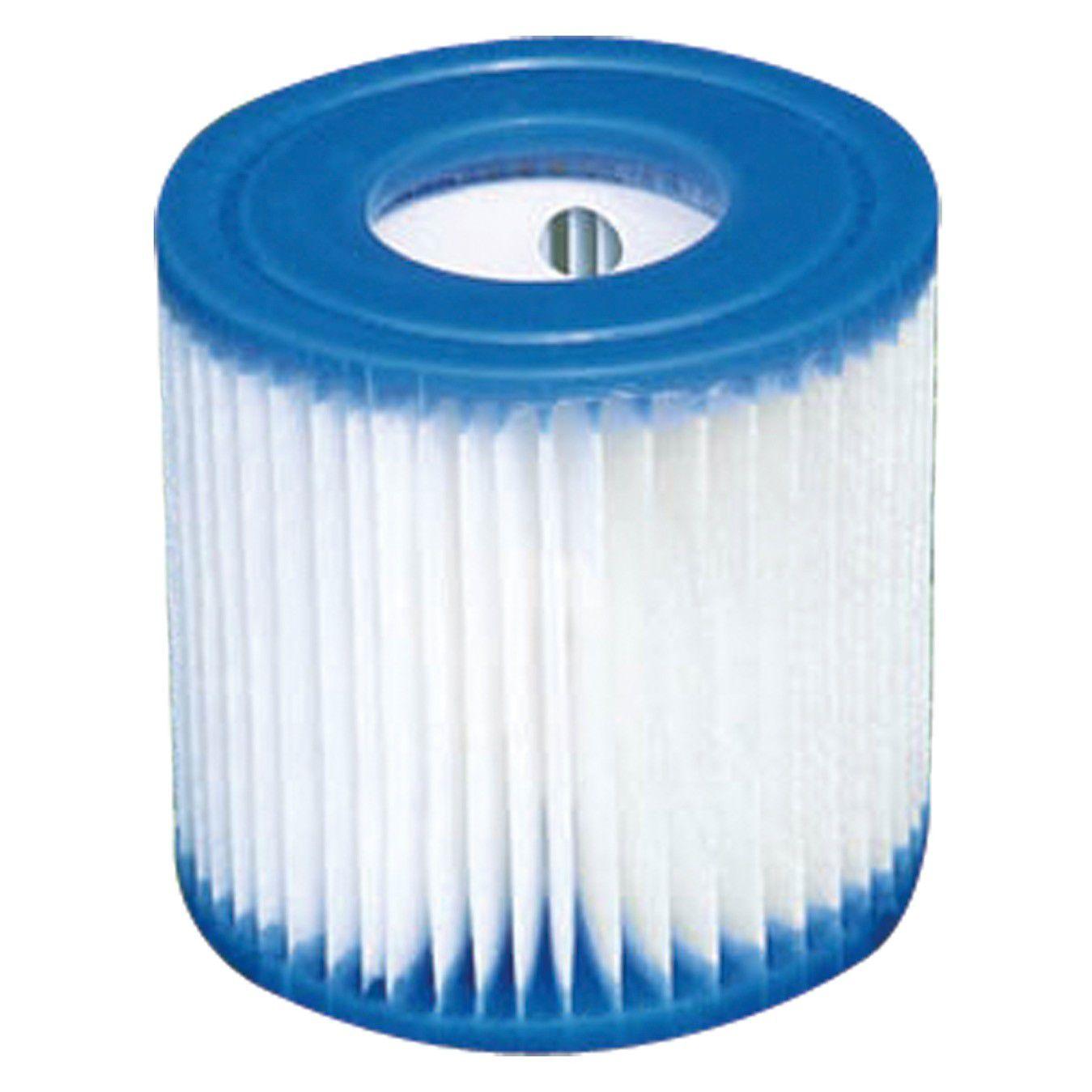 """Refil Cartucho """"H"""" Intex Bomba Filtrante Pure Spa 29007"""