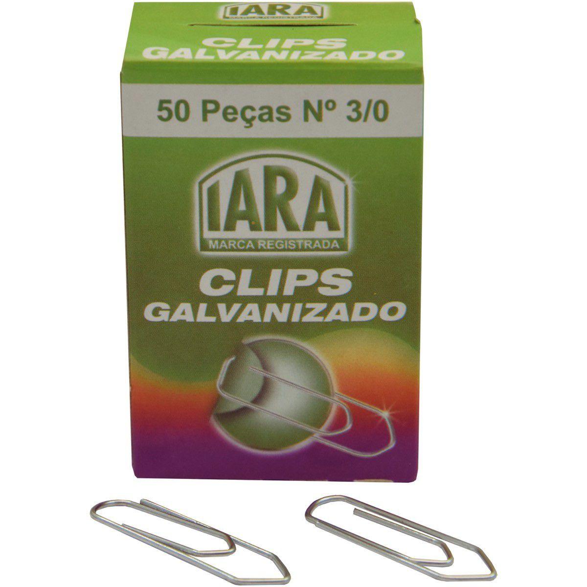 Clips Galvanizado 3/0 C/50 Pt/10