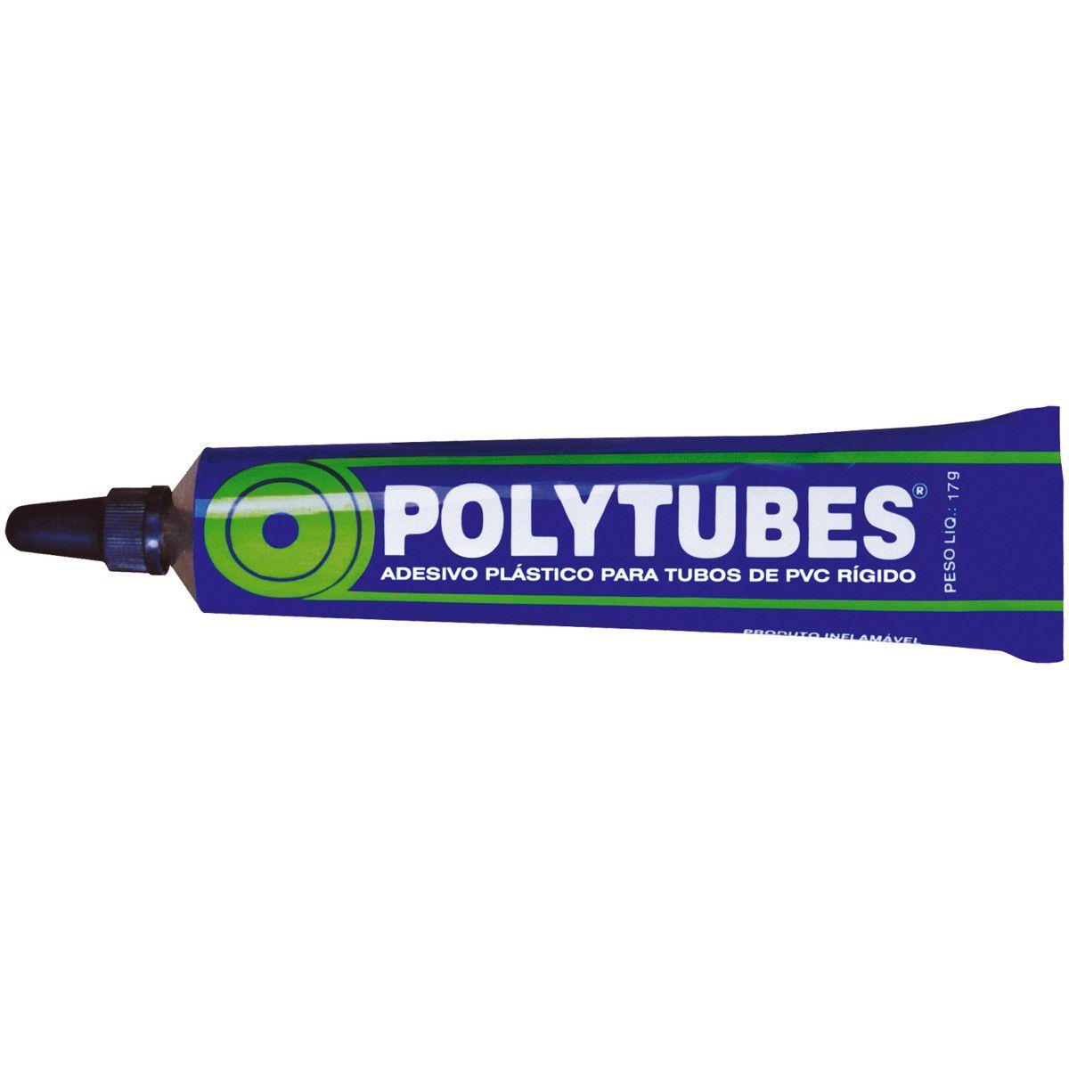 Cola Pvc 17 Cc Polytubes/Pulvitec Cx/48